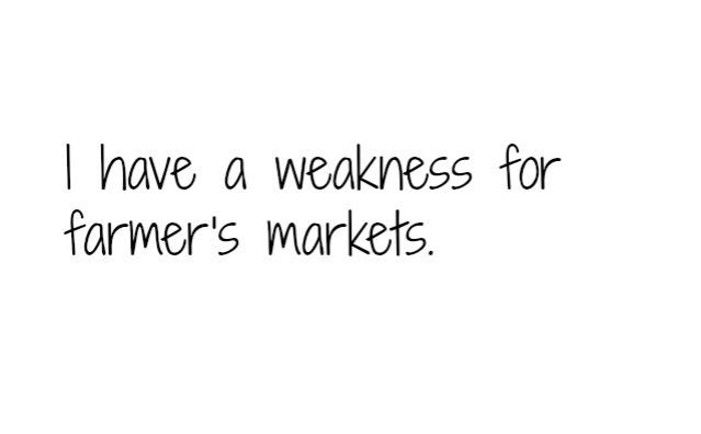 farmer's market text