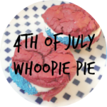 4TH OF JULY WHOOPIE PIE
