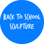 BACK TO SCHOOL SCULPTURE