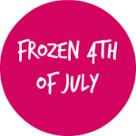 FROZEN 4TH OF JULY