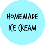 HOMEMADE ICE CREAM