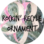 ROCKIN RECYCLE ORNAMENT